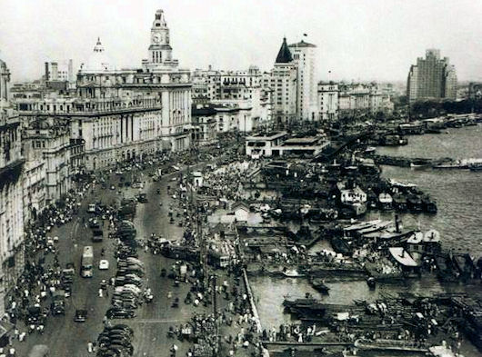 The Bund in 1930