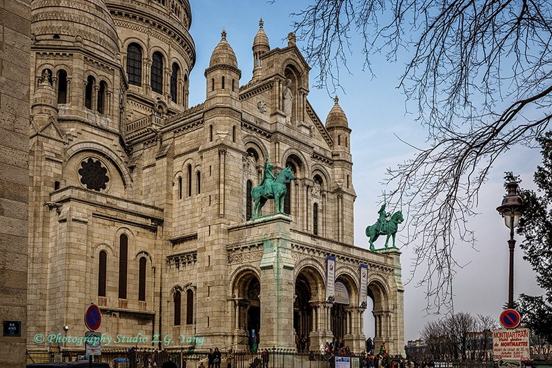 Basilica Sacred-Heart Paris, France