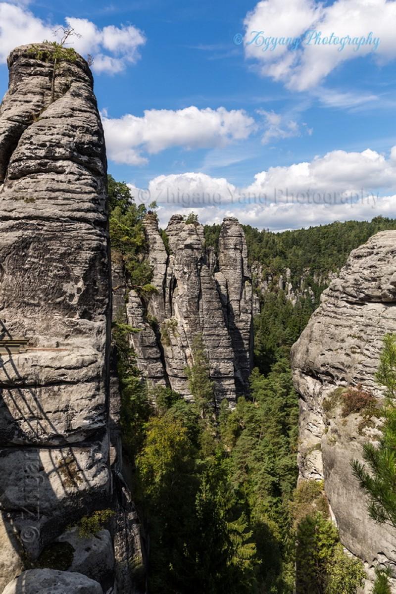 Bastei rock formation 3