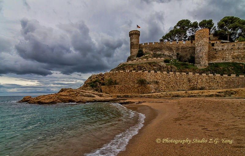 Castle Tossa de Mar, Spain