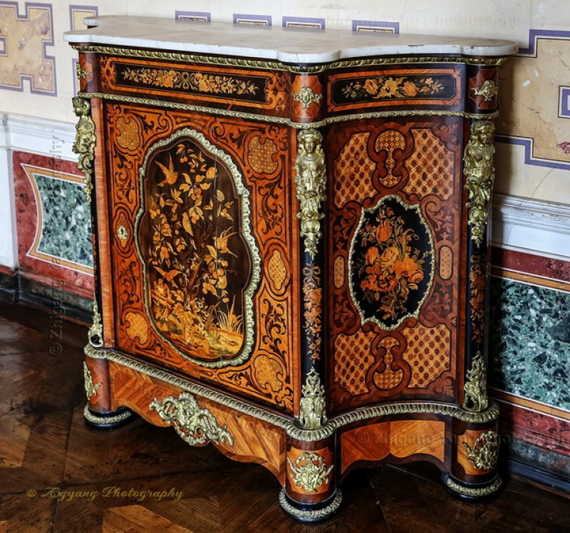 Classic furniture in Castle Schwerin