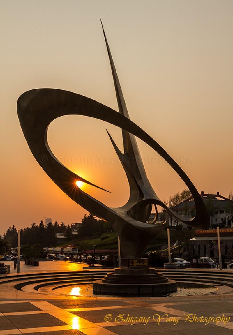Art Sculpture in World Horti-Expo Garden