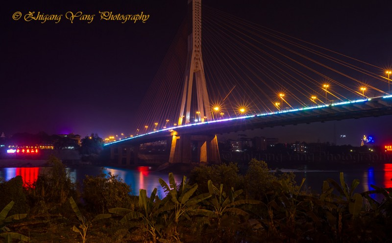 Xishuangbanna Bridge across Lancang River