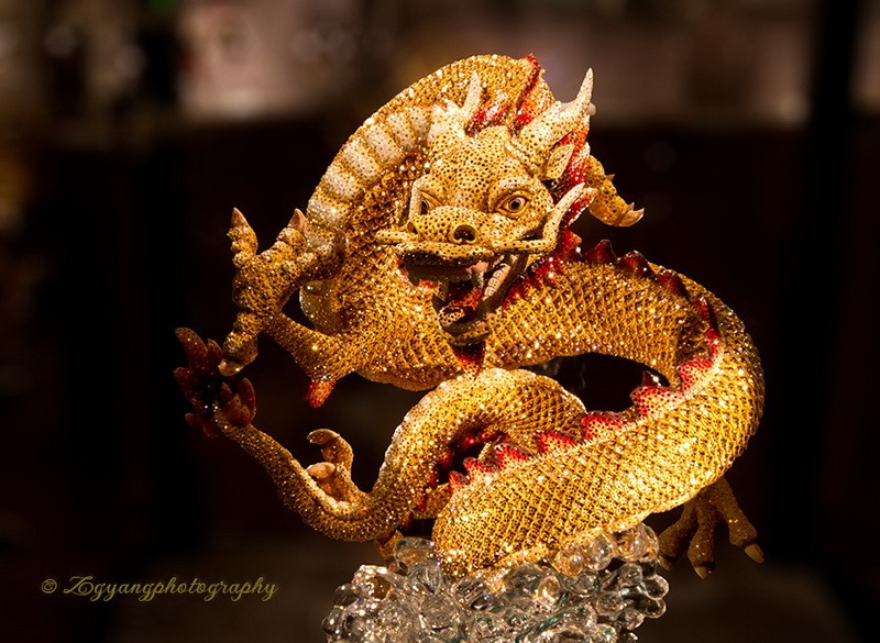 Swarovski dragon