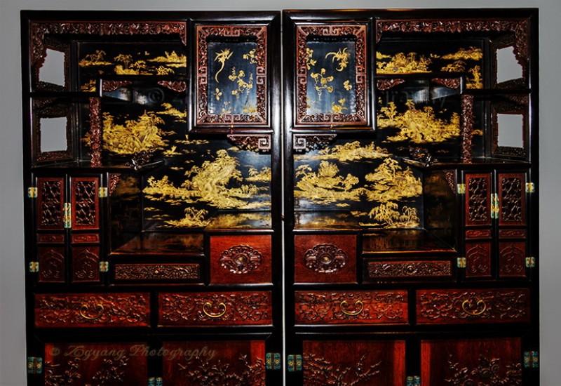 Antique furniture in Museum Shanghai