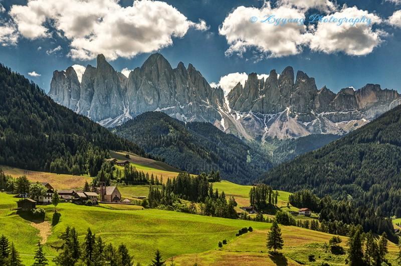 Dolomite at Santa Maddalena Alta