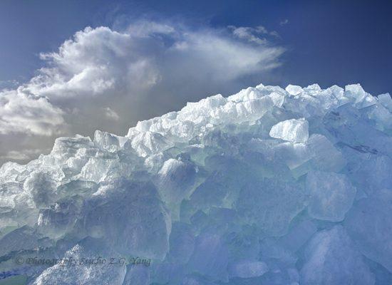 Drifting Ice in Urk, Holland