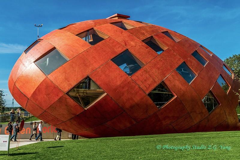Floriade 2012 - bullet house, Holland