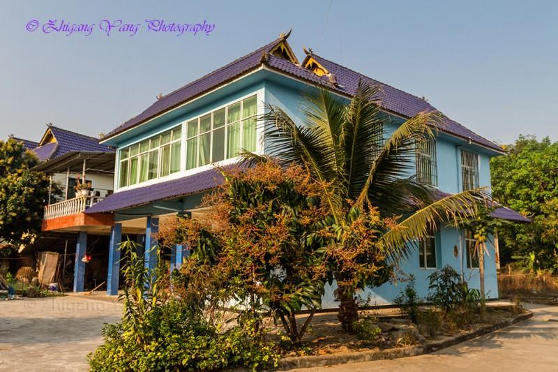 Affluent village house