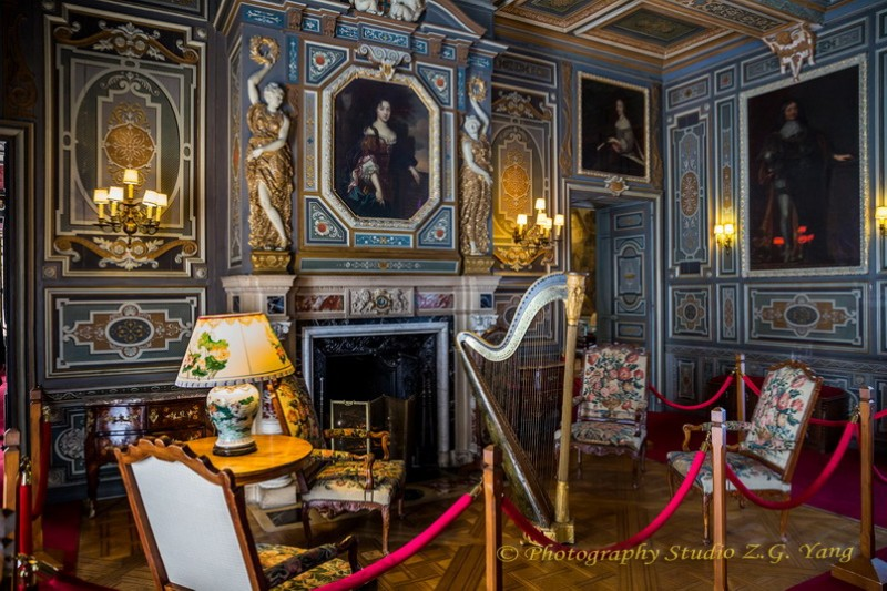 Interior Castle Cheverny 19