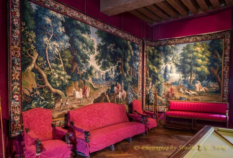 Interior Castle Cheverny 8