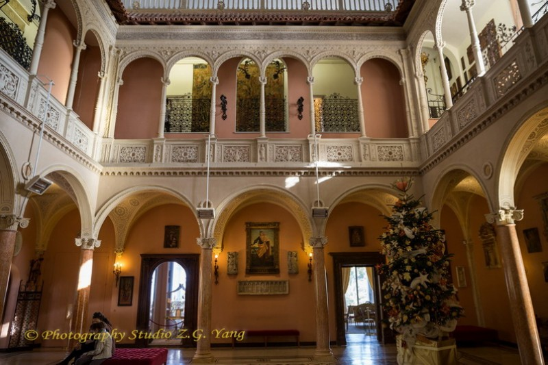 Interiror Villa Ephrussi de Rothschild