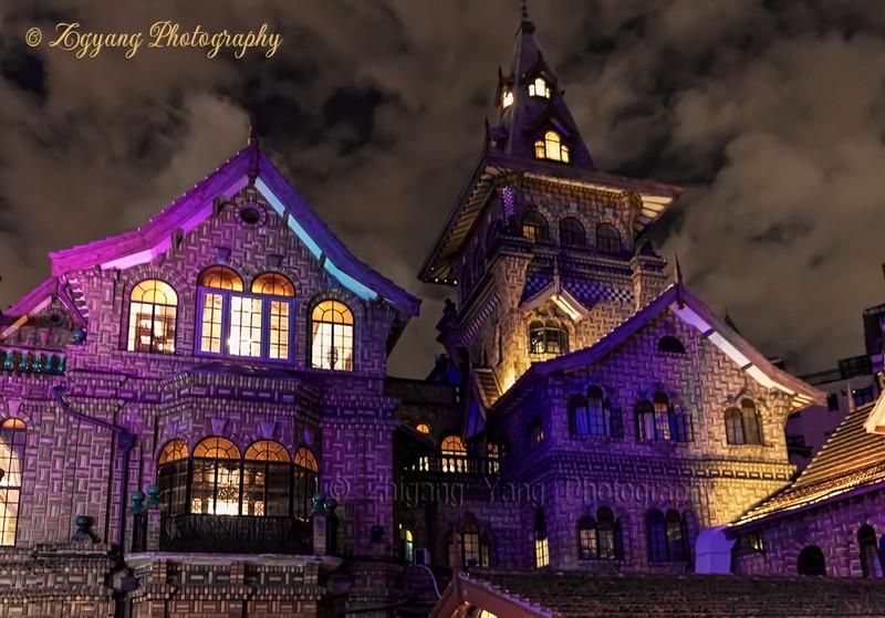 Moller Villa by Night in Shanghai