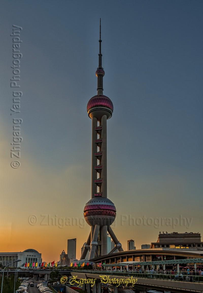 Oriental Pearl Radio & TV Tower Shanghai
