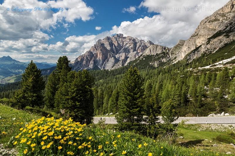 Passo Valparola, Dolomite