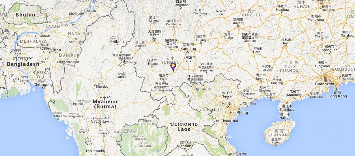 Landmark Park of Northern Tropic in Mojiang