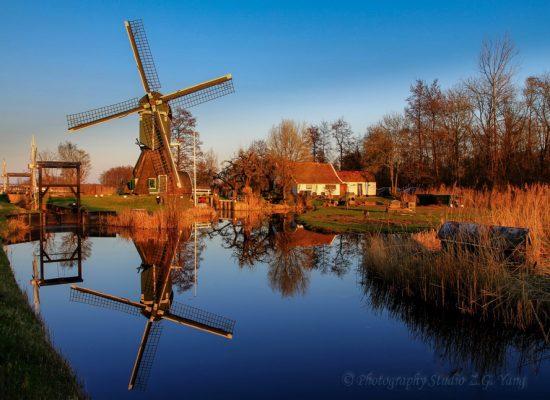 Windmill Tienhoven Holland