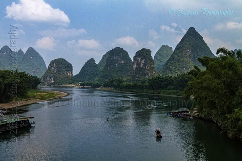 Karst Hills along Li River